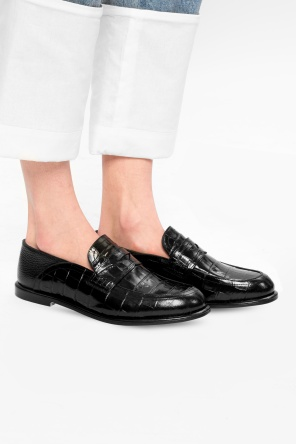 Leather loafers od Loewe