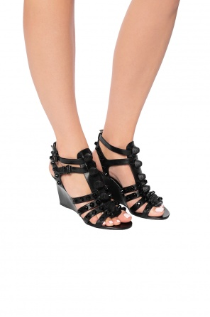 Studded wedge sandals od Balenciaga