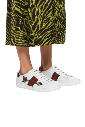 'ace' appliqued sneakers od Gucci