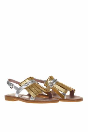 Fringe sandals od Gucci Kids