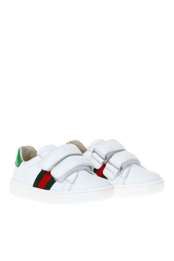 'web' sneakers od Gucci Kids