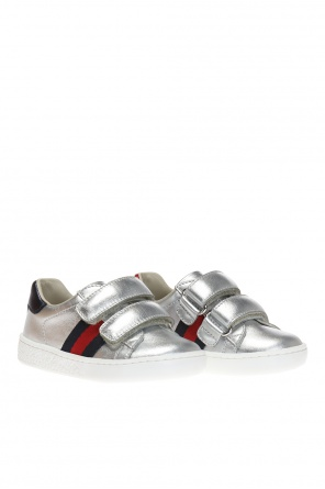 'web' sneakers od Gucci Kids
