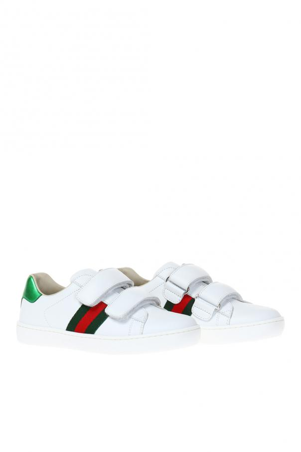 'ace' sport shoes od Gucci Kids