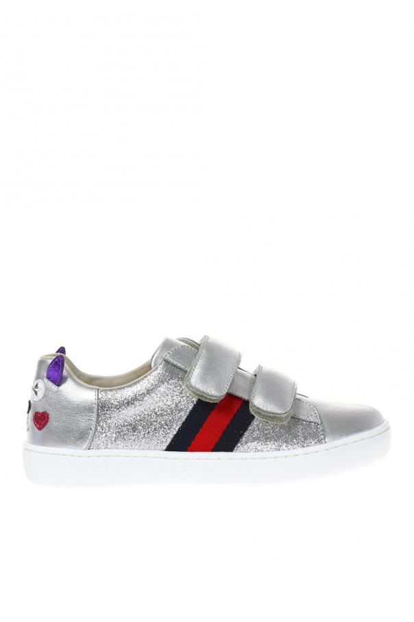 Gucci Kids 'web' sneakers