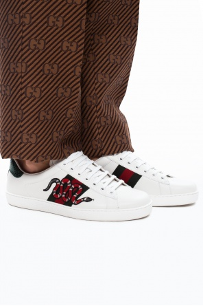 'ace' sneakers with patch od Gucci