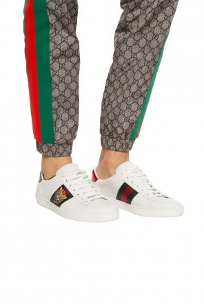 'ace' patched sneakers od Gucci
