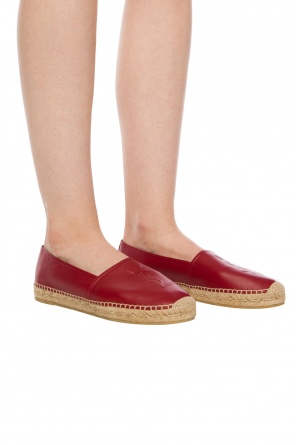 'monogram'  espadrilles with a logo od Saint Laurent