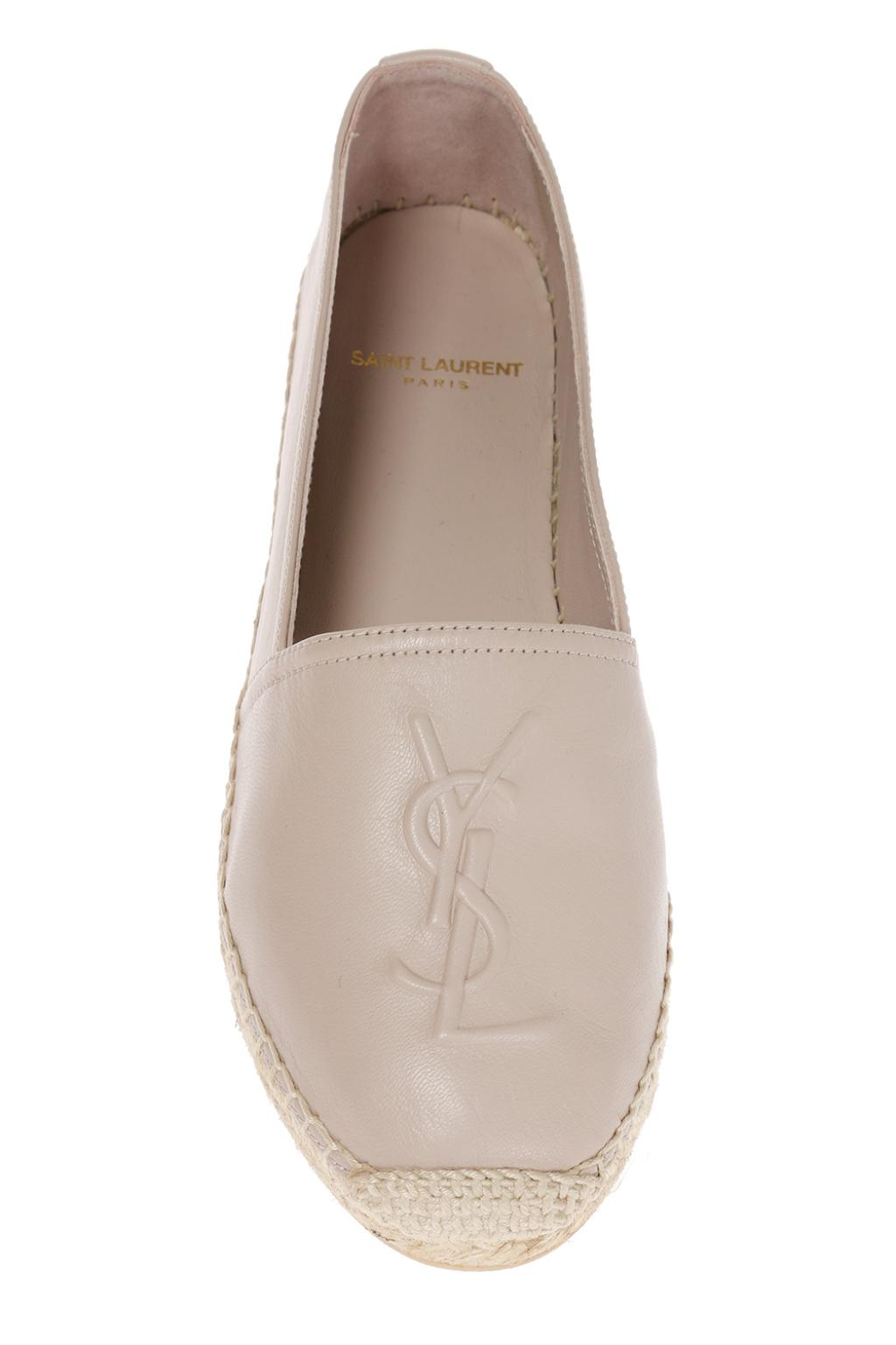 Saint Laurent 'Monogram' espadrilles