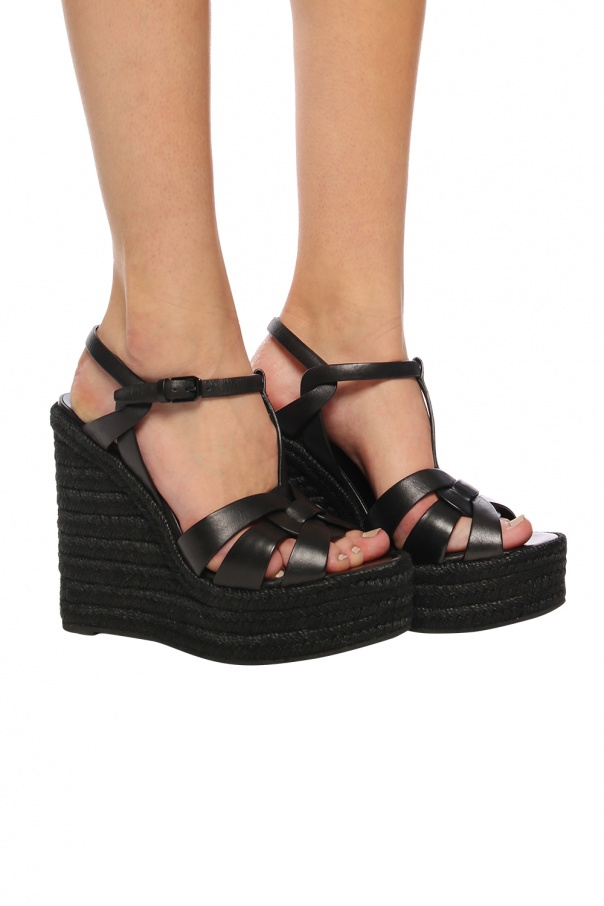 Wedge sandals od Saint Laurent