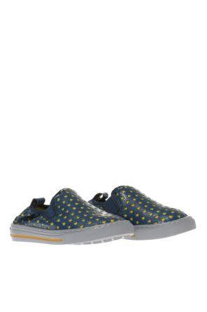 Embossed slip-on sneakers od Stella McCartney Kids