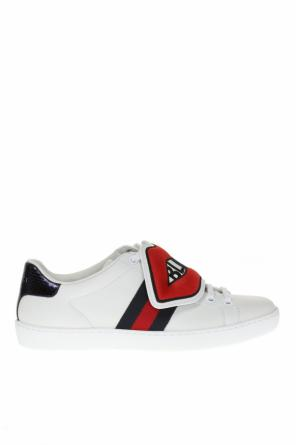 'ace' sneakers with removable element od Gucci