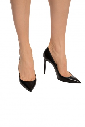 'tripon' leather pumps od Saint Laurent