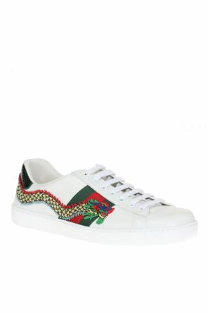 Appliqued sneakers od Gucci