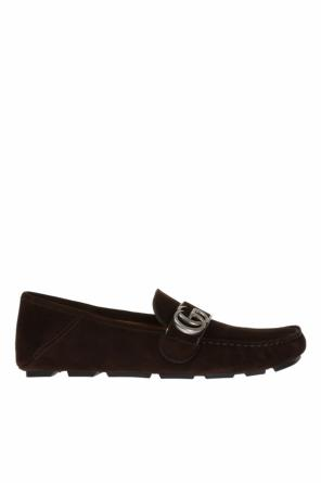 Moccasins with meta logo od Gucci