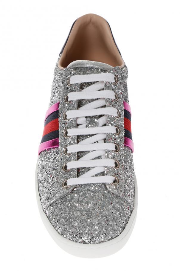 ab53eba62e4e Ace' glitter sneakers Gucci - Vitkac shop online