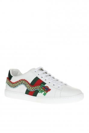 Leather sneakers od Gucci