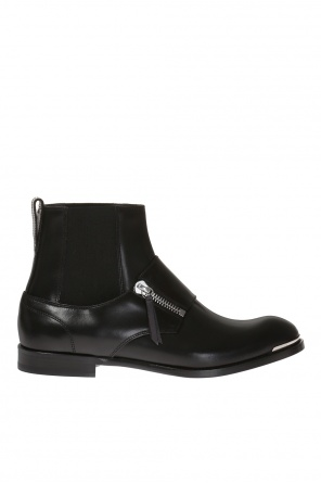 Leather chelsea boots od Alexander McQueen