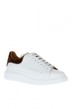 Leather sneakers od Alexander McQueen