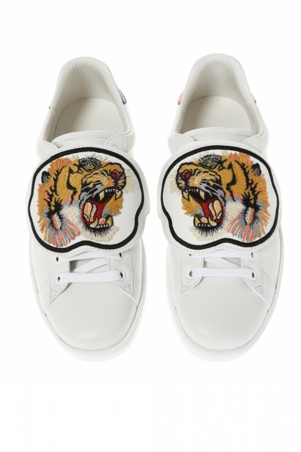 3451702c5bd Ace  sneakers with removable element Gucci - Vitkac shop online