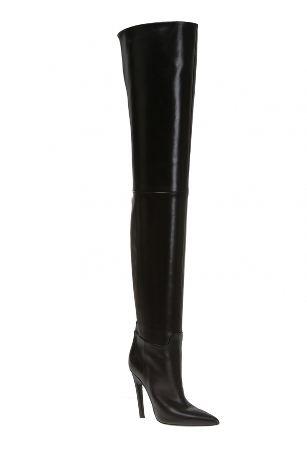 Over-the-knee heeled boots od Balenciaga