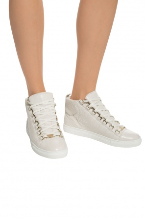 Leather high-top sneakers od Balenciaga