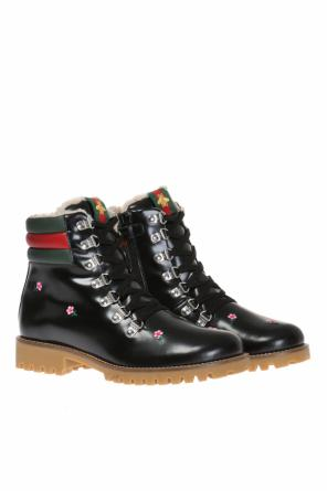 Embroidered boots od Gucci Kids