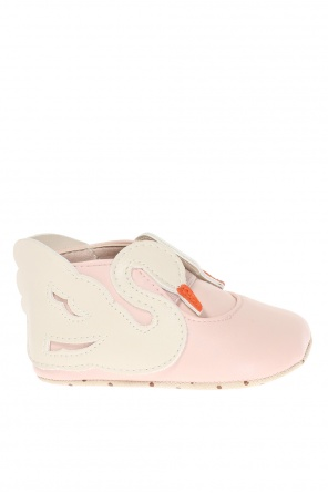 Swan motif shoes od Stella McCartney Kids