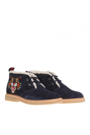 Appliqued shoes od Gucci Kids