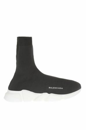 High-top sneakers with sock and logo od Balenciaga