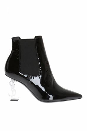 'opyum' heeled ankle boots od Saint Laurent Paris
