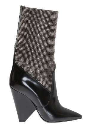 'niki' heeled ankle boots od Saint Laurent Paris