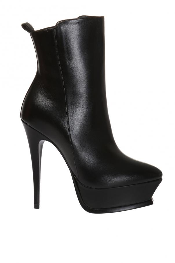 'tribute' platform ankle boots od Saint Laurent