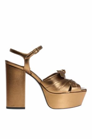 'farrah' platform sandals od Saint Laurent