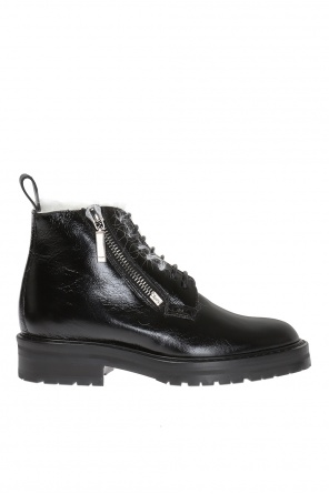 'william' lace-up ankle boots od Saint Laurent Paris