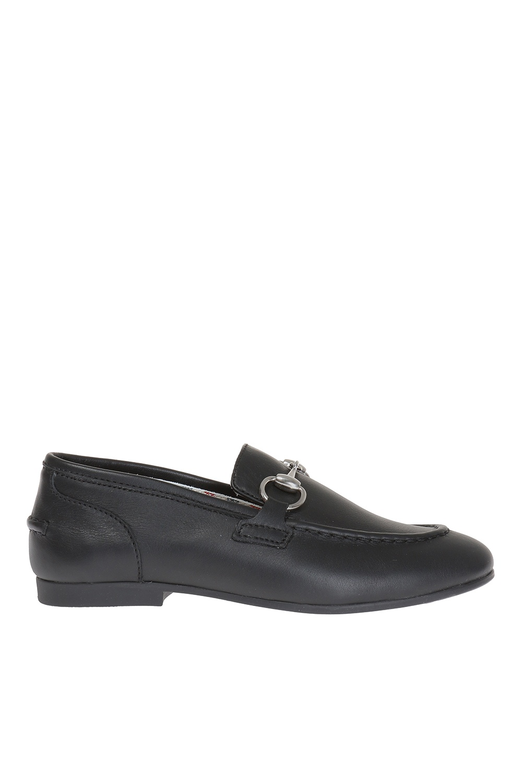 Gucci Kids Horsebit loafers