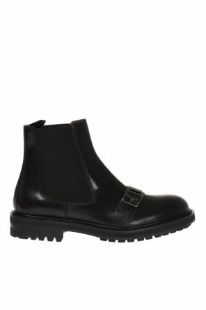 Ankle boots with buckle od Alexander McQueen