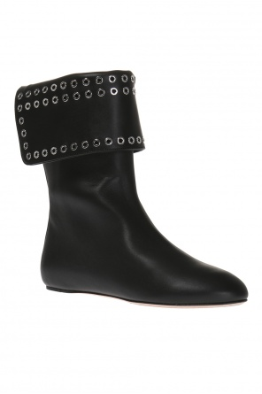 Studded leather ankle boots od Alexander McQueen