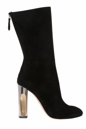 Knee-high heeled boots od Alexander McQueen