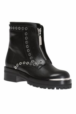 Studded ankle boots od Alexander McQueen