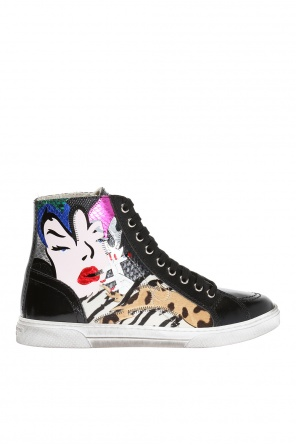 'antibe' high-top sneakers od Saint Laurent Paris