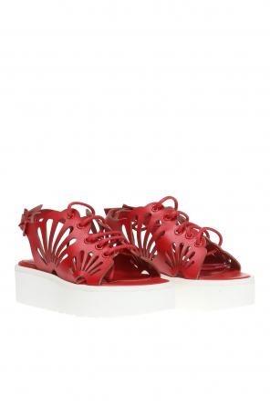 'flores' platform sandals od Stella McCartney Kids
