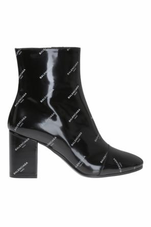 Heeled ankle boots with logo od Balenciaga