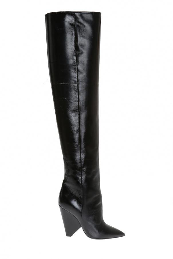 f54ed1db17a Niki  over-the-knee boots Saint Laurent - Vitkac shop online