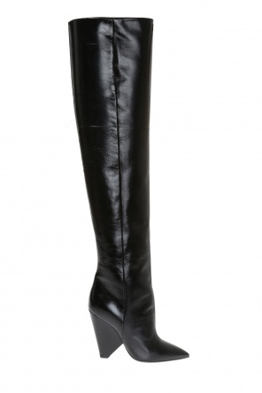 'niki' over-the-knee boots od Saint Laurent