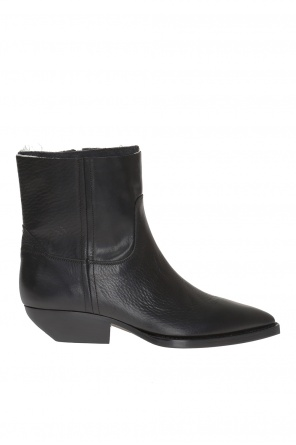 Leather ankle boots od Saint Laurent Paris