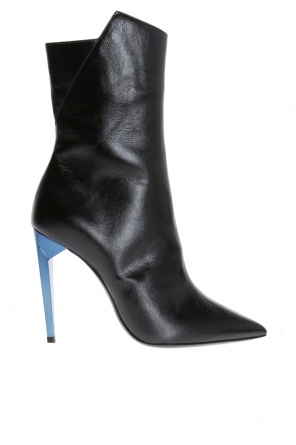 'freja' heeled boots od Saint Laurent Paris