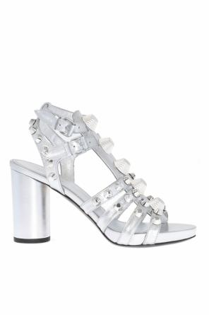 Studded heeled sandals od Balenciaga
