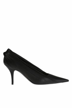 Leather-coated pumps od Balenciaga