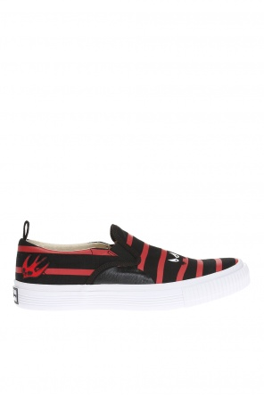 Striped slip-on sneakers od McQ Alexander McQueen
