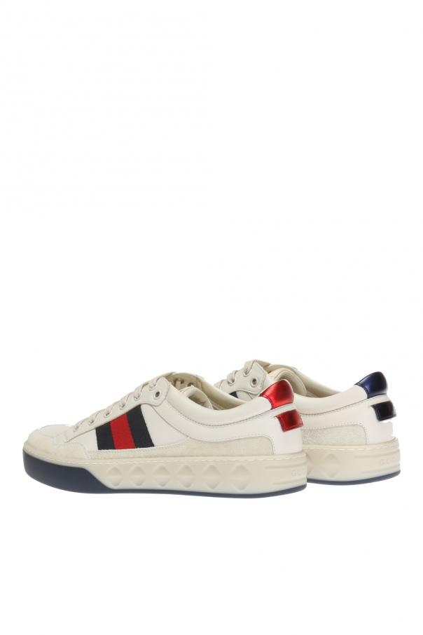 dda77eff59e Sneakers with  Web  strap Gucci - Vitkac shop online